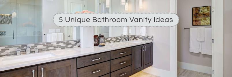 5 Unique Bathroom Vanity Ideas