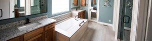 remodelled bathroom